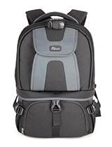 Up and down bin type camera backpack S-1025